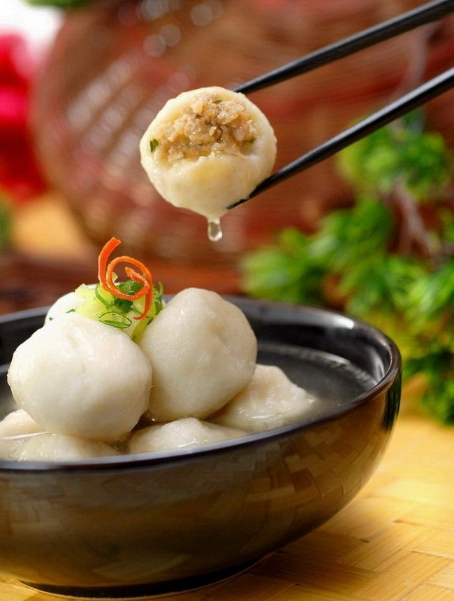 Fuzhou Stuffed fish ball(福州鱼丸)