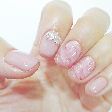 Girls heart --Nails